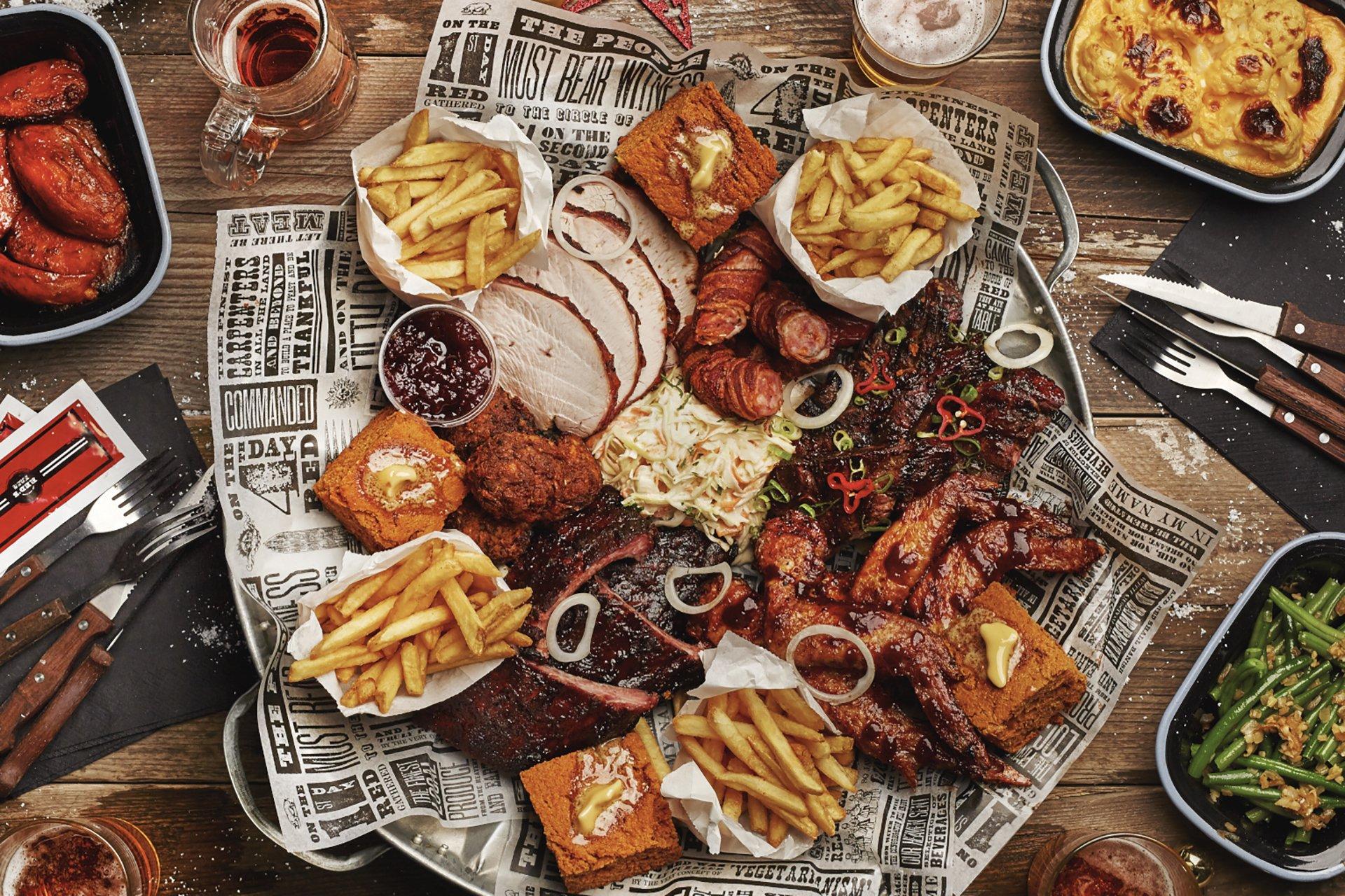piatto misto carne smoke bbq