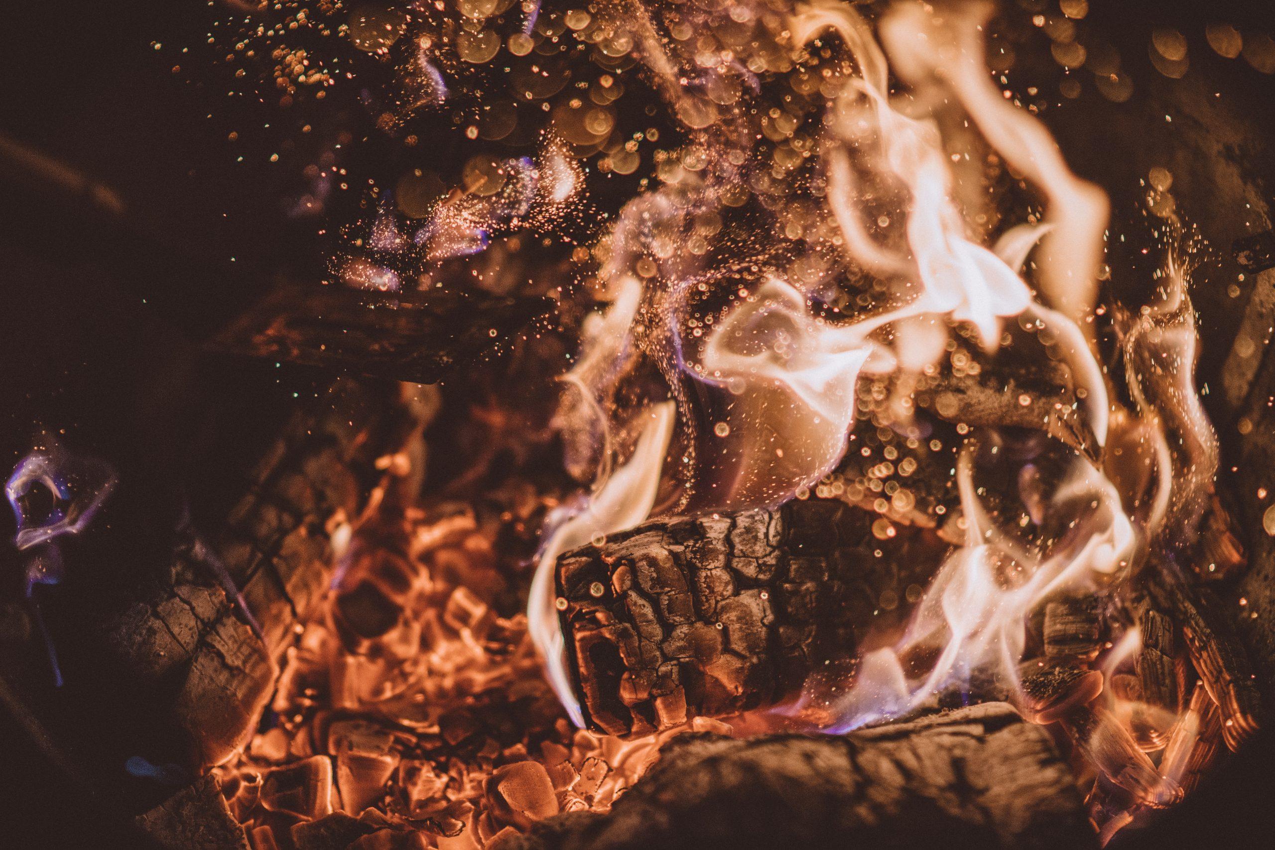 legna che arde